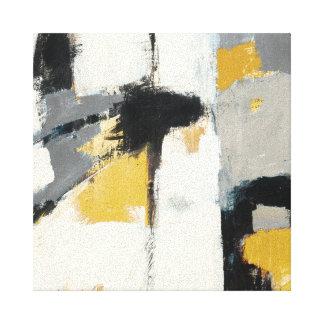 Modernes abstraktes gespannter galeriedruck
