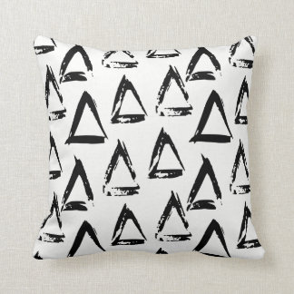 Modernes böhmisches geometrisches kissen