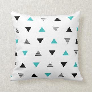 Modernes Dreieck-Muster-Wurfs-Kissen Kissen