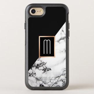Modernes einzigartiges Schwarz-weißes OtterBox Symmetry iPhone 7 Hülle