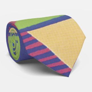 Modernes Geo in der Traube und im Grün Personalisierte Krawatte