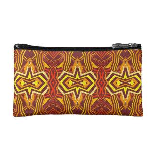 Modernes geometrisches Muster Makeup-Tasche