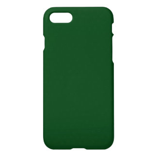 Modernes kundengerechtes Forest Green iPhone 8/7 Hülle