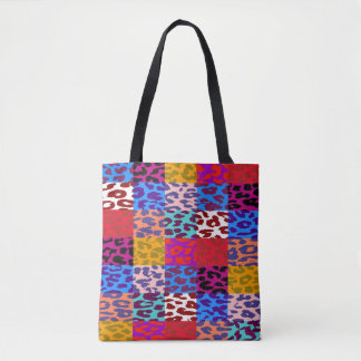 Modernes Leopard-Haut-Muster #36 Tasche