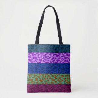Modernes Leopard-Haut-Muster #5 Tasche