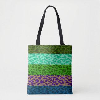 Modernes Leopard-Haut-Muster #7 Tasche