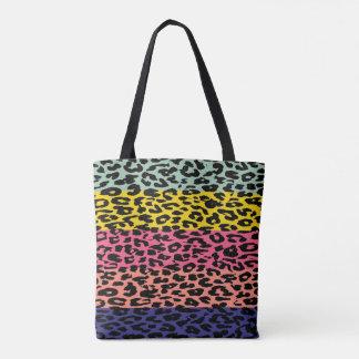 Modernes Leopard-Haut-Muster Tasche