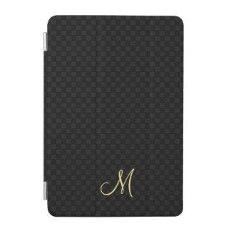 Modernes Monogramm-Muster iPad magnetische iPad Mini Hülle