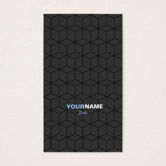 Modernes Muster-Grau Visitenkarte