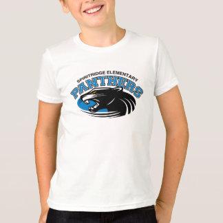 Modernes Panther-T-Stück (weiß) T-Shirt