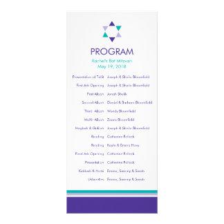 Modernes Stern-Schläger Mitzvah Programm