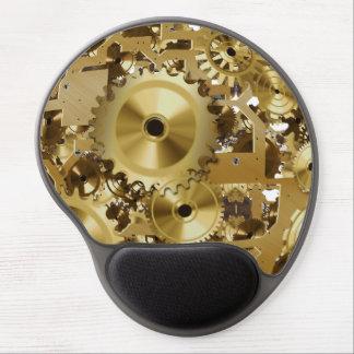 Modernes Uhr-Motor-Gel Mousepad