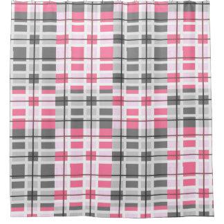 Modernes zeitgenössisches abstraktes Muster Duschvorhang