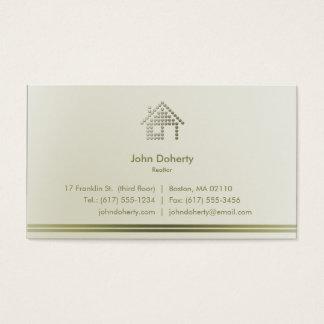 Modernes Zuhause des Realtor-| Visitenkarte