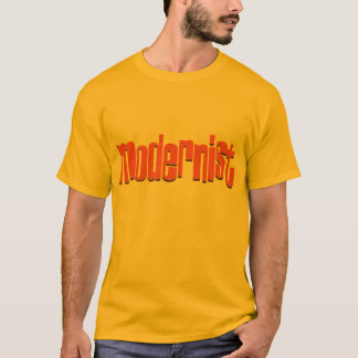 Modernistisch T-Shirt