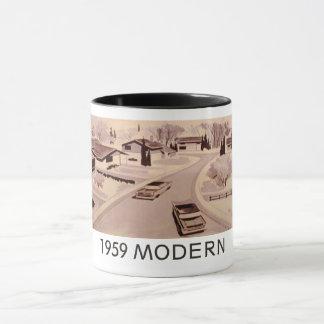 Modernistische WohnTasse echte 1959 Tasse
