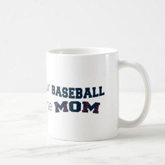 Modische Baseballmamma Kaffeetasse