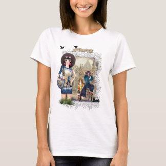Modische Mode-Modelle T-Shirt