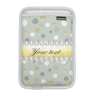 Modische Schnee-Tupfen-Stern-Diamanten iPad Mini Sleeve