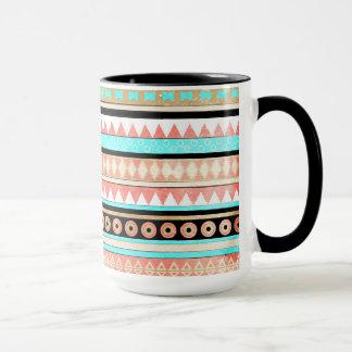 Modischer Azteke Tasse