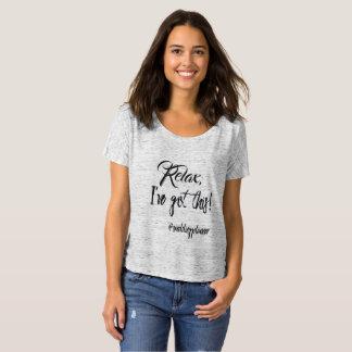 Modischer Hochzeits-Planer Textography T-Shirt