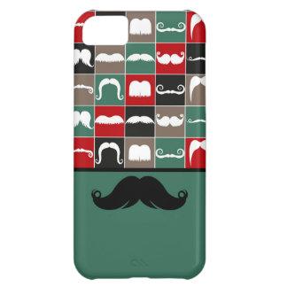 Modischer Lenkstangen-Schnurrbart für den Vatertag iPhone 5C Hülle