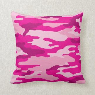Modischer Pink-Tarnungs-Schlafzimmer-Dekor Kissen