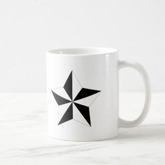 Modischer Stern Kaffeetasse