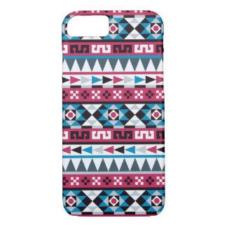 Modisches aztekisches geometrisches Muster iPhone 8/7 Hülle