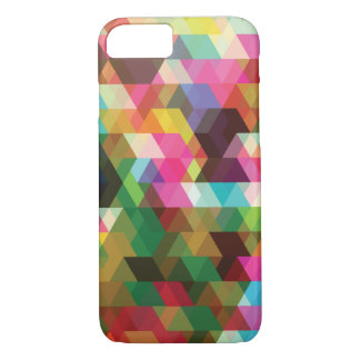 Modisches buntes Polygon formt iPhone 7 Fall iPhone 8/7 Hülle