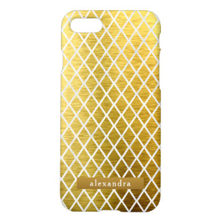 Trendy Gold Diamonds Pattern