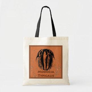 Modocia Typicalis Fossil Trilobite Budget Stoffbeutel