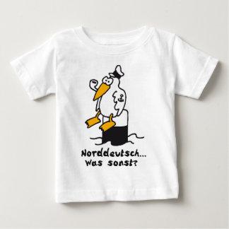Moewe am Hafen 3c norddeutsch Baby T-shirt