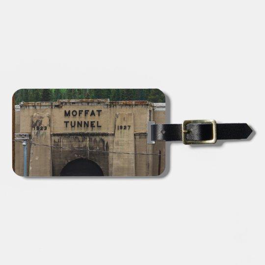 Moffat Tunnel Colorado Gepäckanhänger