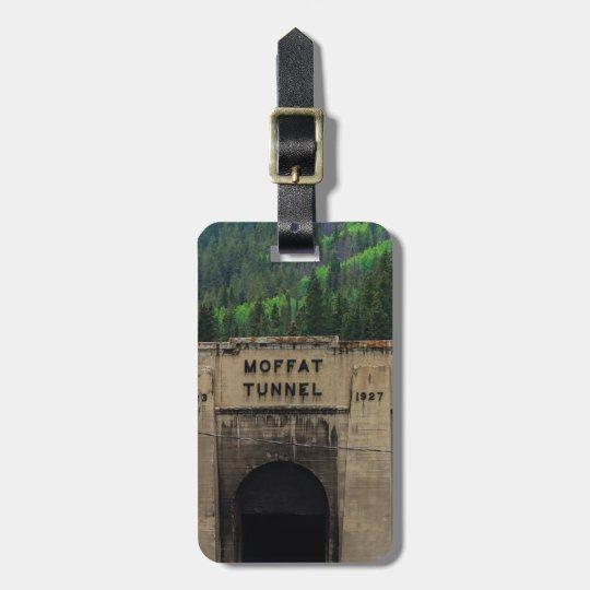 Moffat Tunnel-Kiefer Colorado Gepäckanhänger
