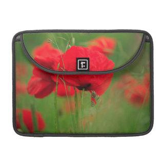 Mohnblumen-Feld Sleeve Für MacBook Pro