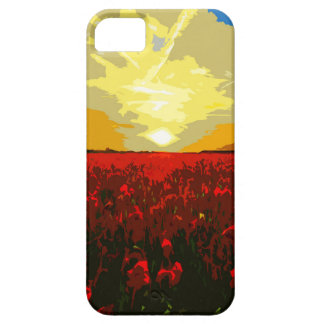 Mohnblumenfeld iPhone 5 Case