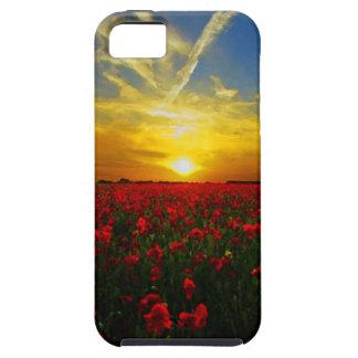 Mohnblumenfeld iPhone 5 Schutzhüllen