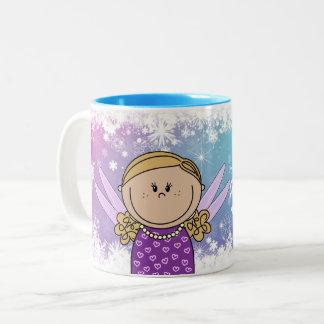Mok - prinsessen mok met eigen naam - Heidy Zweifarbige Tasse
