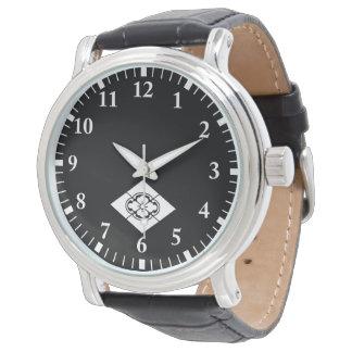 Mokko in der Raute Armbanduhr