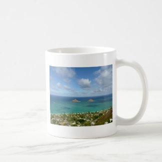 Moks weg vom Ufer von Lanikai Kaffeetasse