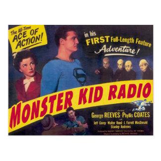 Mole-Männer und der Mann der Monster Postkarte