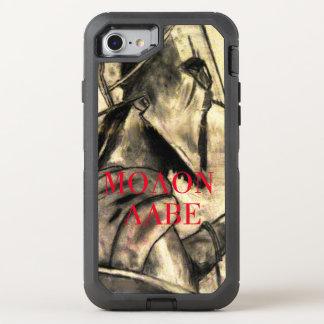 Molon Labe spartanischer Krieger OtterBox Defender iPhone 7 Hülle