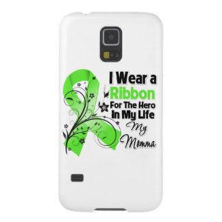 Momma Held in meinem Leben-Lymphom-Band Samsung Galaxy S5 Cover