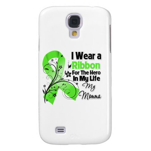 Momma Held in meinem Leben-Lymphom-Band Galaxy S4 Hülle