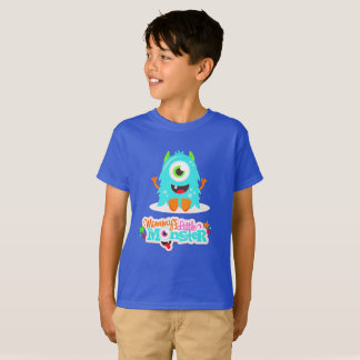 Mommys Little Boy Monster T-Shirt