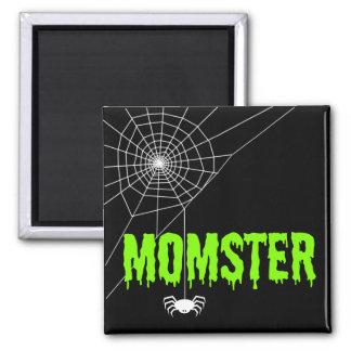 Momster Limones grünes Quadratischer Magnet