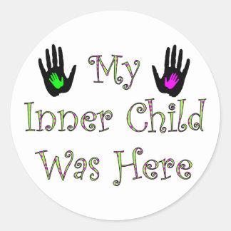 Mon enfant intérieur était ici adhésifs