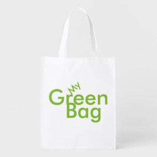 Mon sac vert sacs d'épicerie réutilisables