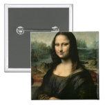Mona Lisa, c.1503-6 Badge Carré 5 Cm